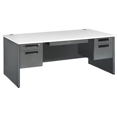 OFM Mesa Series Panel End Computer Desk