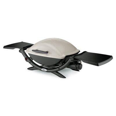 weber q series 2000 lp titanium portable gas grill reviews wayfair. Black Bedroom Furniture Sets. Home Design Ideas