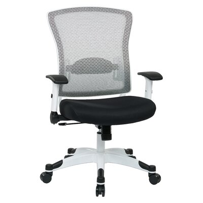 Office Star Products Pulsar Mesh Conference Chair with Height Adjustable Flip Arms