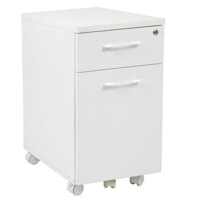 Office Star Products Prado 2 Drawer Mobile F..