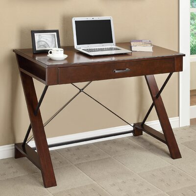 Office Star Products Inspired by Bassett Rosalind Writing Desk with Drawer