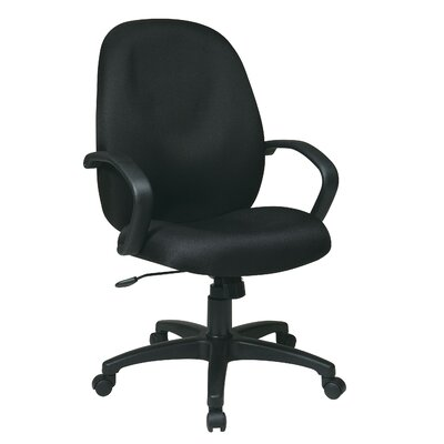 Office Star Products Mid-Back Executive M..