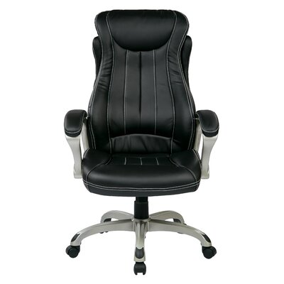 Office Star Products High-Back Executive Office Chair with Arms