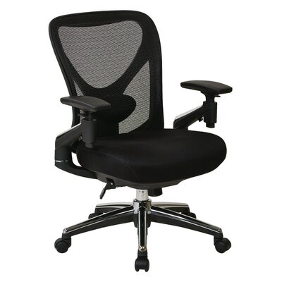 Office Star Products Pro Line II Mesh Back Task Chair with Pivoting Arms
