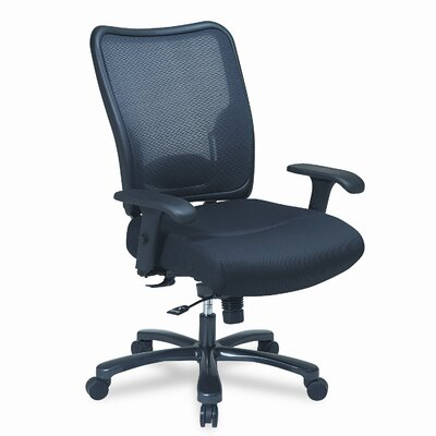 Office Star Products Space Air Grid Conference Big & Tall Chair, Air Grid ..