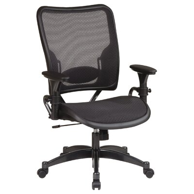 Office Star Products SPACE Deluxe Air Grid Mid-Back Conference Chair with Arms