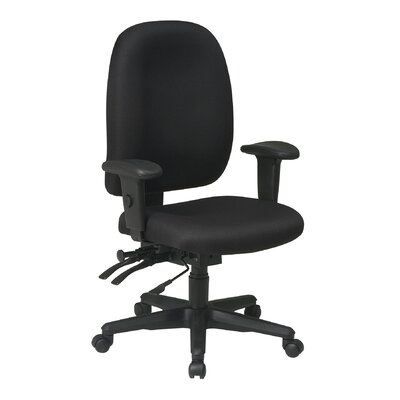 Office Star Products Mid-Back Ergonomic O..