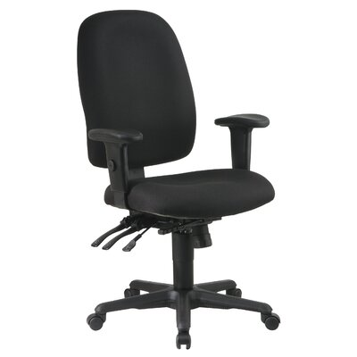 Office Star Products Ergonomic Mid-Back O..