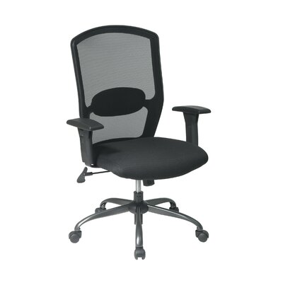 Office Star Products Screen Back Mesh Seat Office Chair