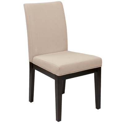 House of Hampton Feldman Side Chair in Beige