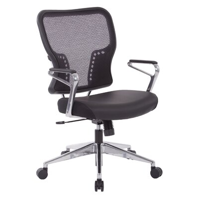 Office Star Products Mid-Back Mesh Des..