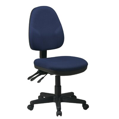Office Star Products Mid-Back Dual Function ..