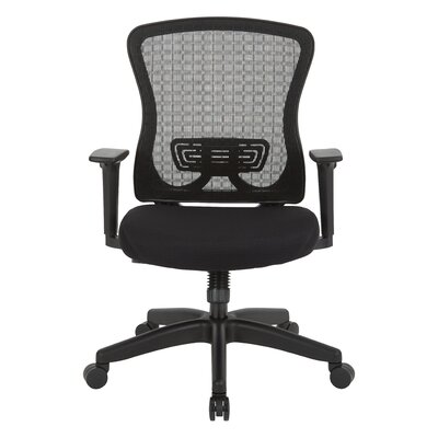 Office Star Products Space Seating? Mid-Back Mesh Desk Chair