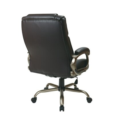 Office Star Products Eco Leather Big Mans..