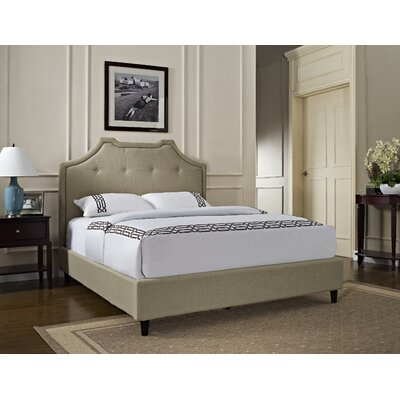 Powell Furniture King Upholstered Panel Bed