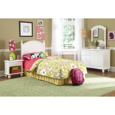Powell Furniture Panel 4 Piece Bedroom Set