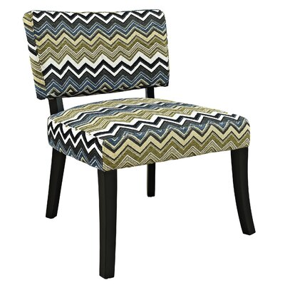 Powell Furniture Zig Zag Side Chair