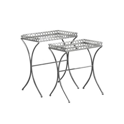 House of Hampton Merchant 2 Piece Nesting Tables