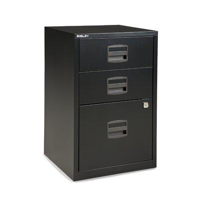 Bindertek 3-Drawer Steel Home or Office Filing Cabinet