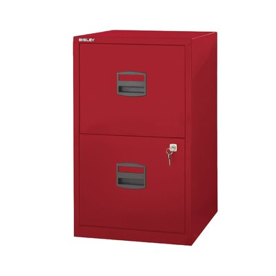 Bindertek 2-Drawer Steel Home or Office Filing Cabinet
