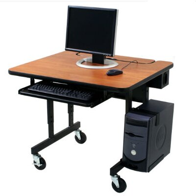 Paragon Furniture Classic Flip Top Workstation Computer Desk