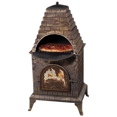 Deeco Aztec Allure Pizza Oven Outdoor Fireplace Reviews Wayfair