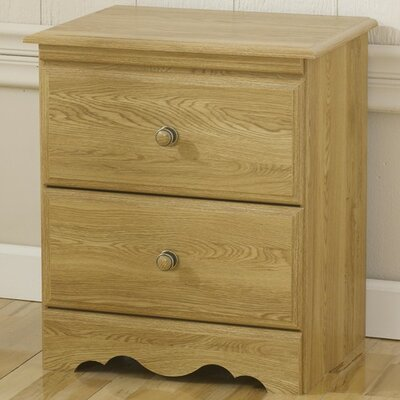 Lang Furniture Oak Creek  2 Drawer Nightstand