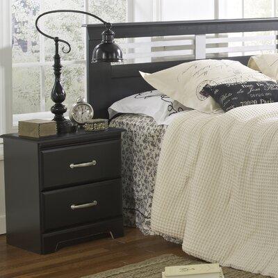 Lang Furniture Trenton 2 Drawer Nightstand
