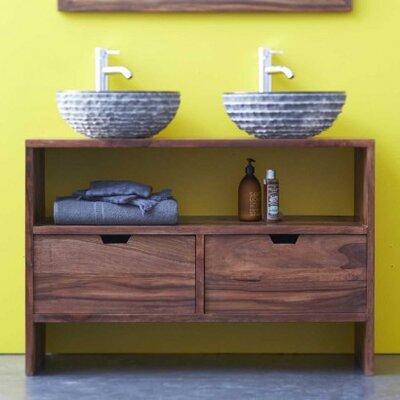 tikamoon kwarto 110cm double vanity set wayfair uk. Black Bedroom Furniture Sets. Home Design Ideas
