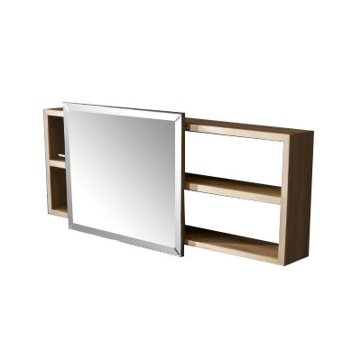 Tikamoon typo 40cm x 90cm mirror cabinet reviews for Miroir 90 x 40