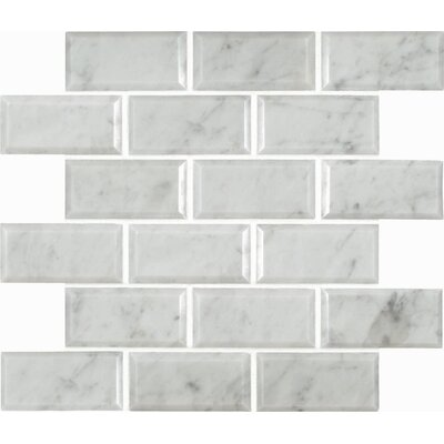 Msi Arabescato Carrara Greecian Mounted 2 Quot X 4 Quot Marble