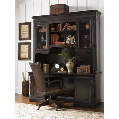 Sligh Halton House Winchcombe Executive Desk with Storage Deck