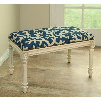 123 Creations Coastal Upholstered & Wood ..
