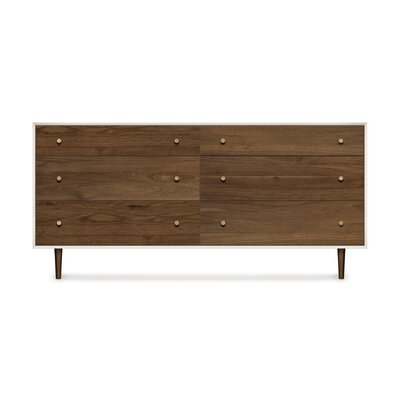 Copeland Furniture Mimo 6 Drawer Dresser