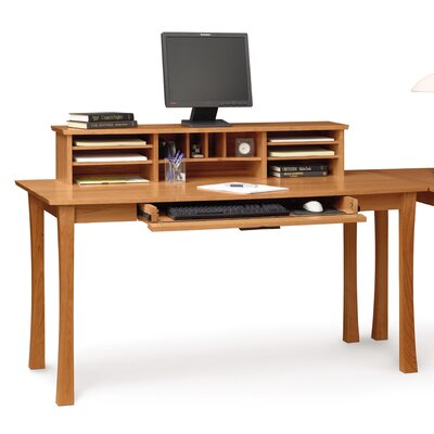 Copeland Furniture Berkeley Computer Desk with Keyboard Tray