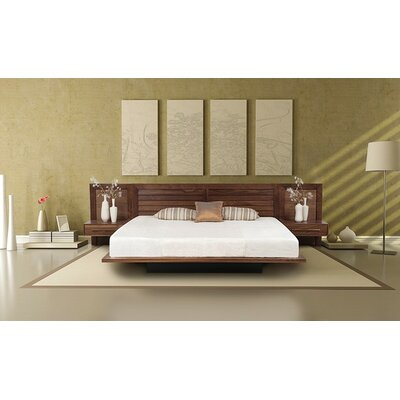 Copeland Furniture Moduluxe Platform Customizable Bedroom Set with Low Uph..