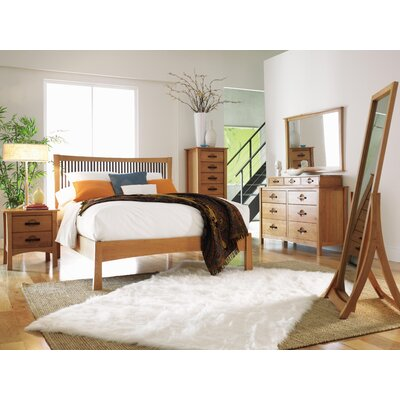 Copeland Furniture Monterey Platform Customizable Bedroom Set
