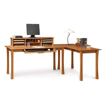 Copeland Furniture Berkeley Desk with Keyboard Tray