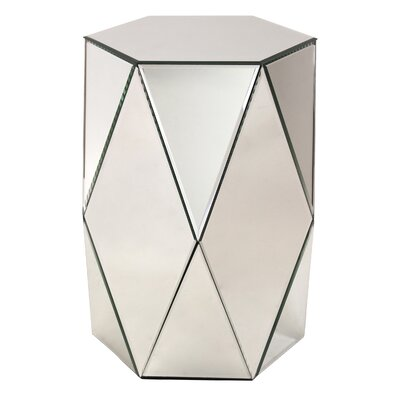 Aspire Sienna Pedestal End Table Image