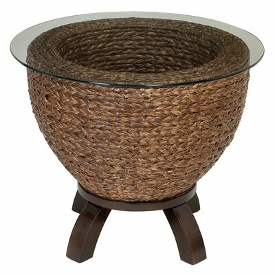 Aspire Wicker End Table