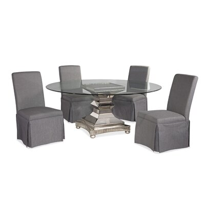 House of Hampton Crowthorne 5 Piece Casual Dining Set