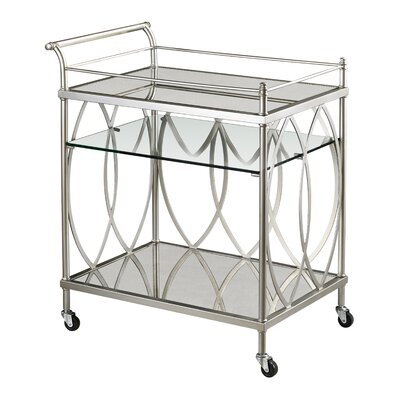 House of Hampton Vosselare Serving Cart