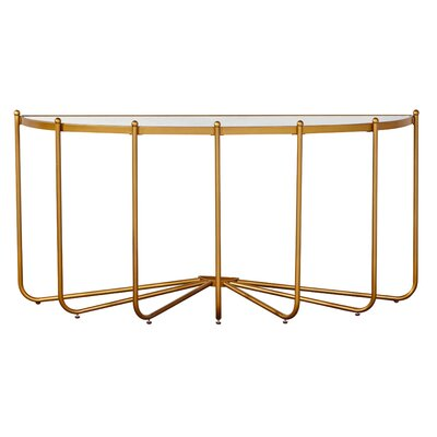 Bassett Mirror Thoroughly Modern Crayden Console Table