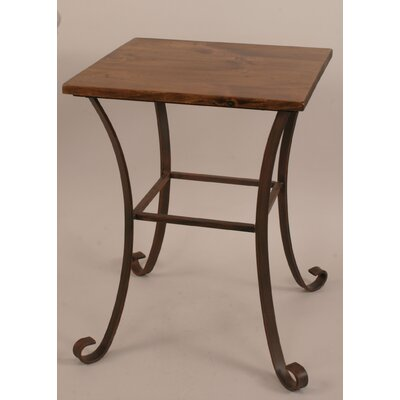 Coast Lamp Mfg. Rustic Living End Table Image