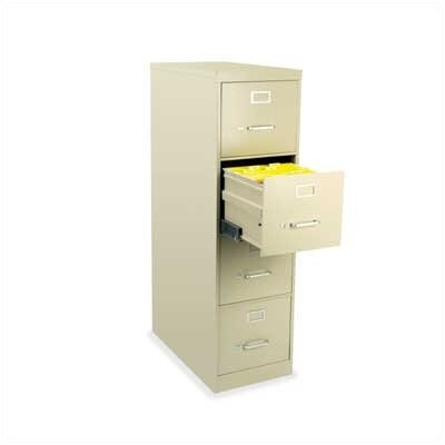 Virco 4-Drawer Letter  File