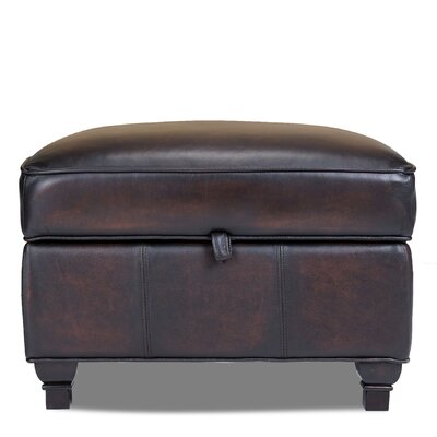 Opulence Home Pablo Leather Storage Ottoman