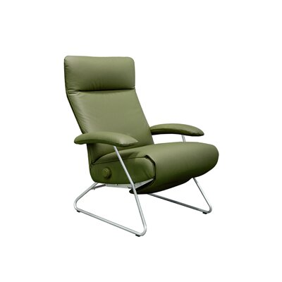 Lafer Demi Leather Ergonomic Recliner