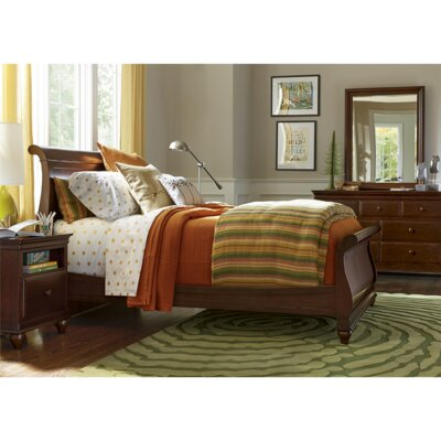 SmartStuff Furniture Classics 4.0 Twin Sleigh Customizable Bedroom Set