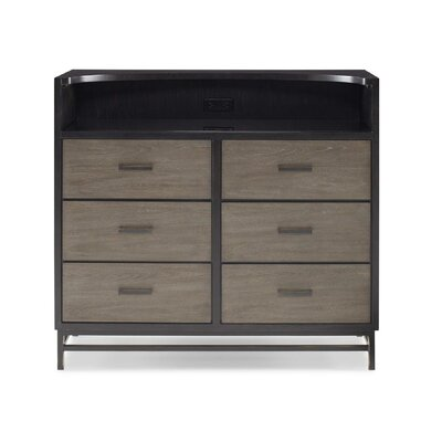 SmartStuff Furniture #myRoom 6 Drawer Double Dresser