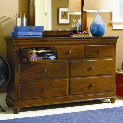 SmartStuff Furniture Classics 7 Drawer Dresser
